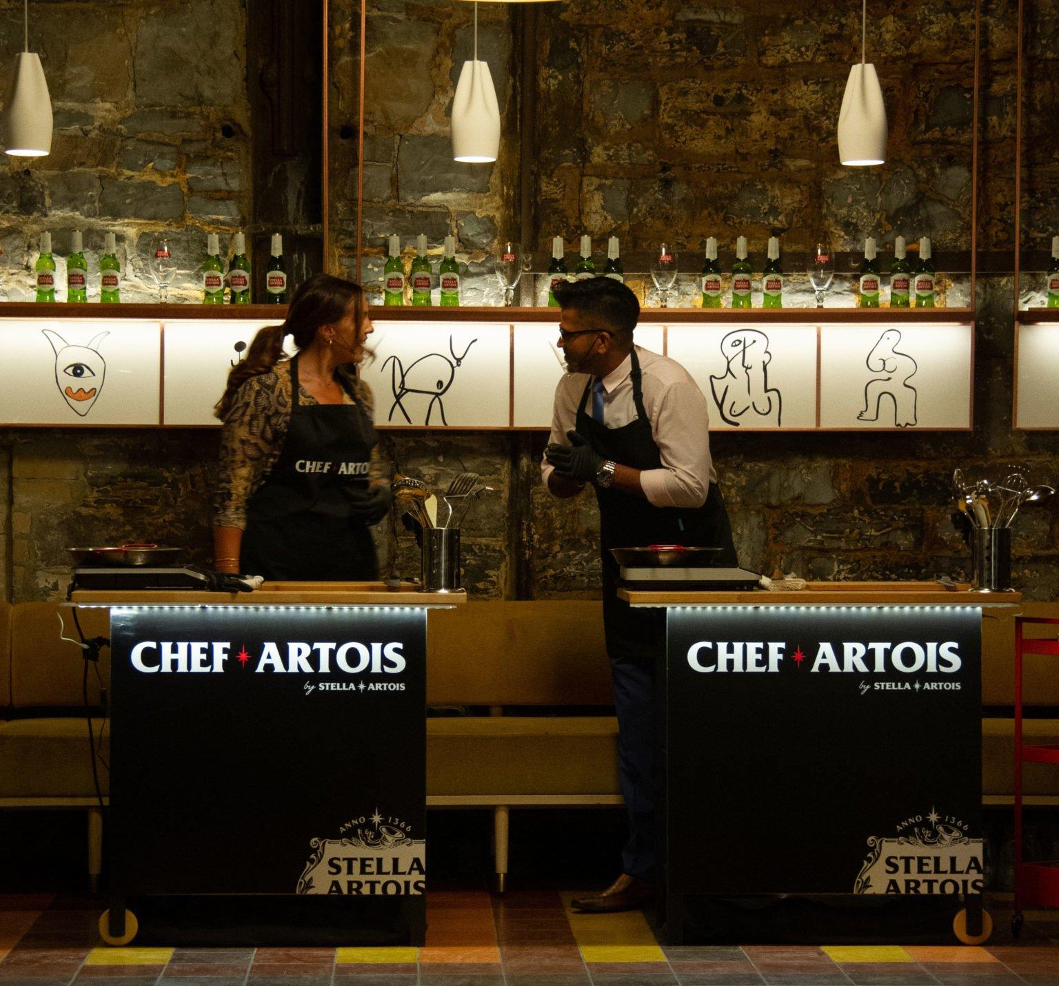 Toronto Life and Stella Artois - Chef Artois