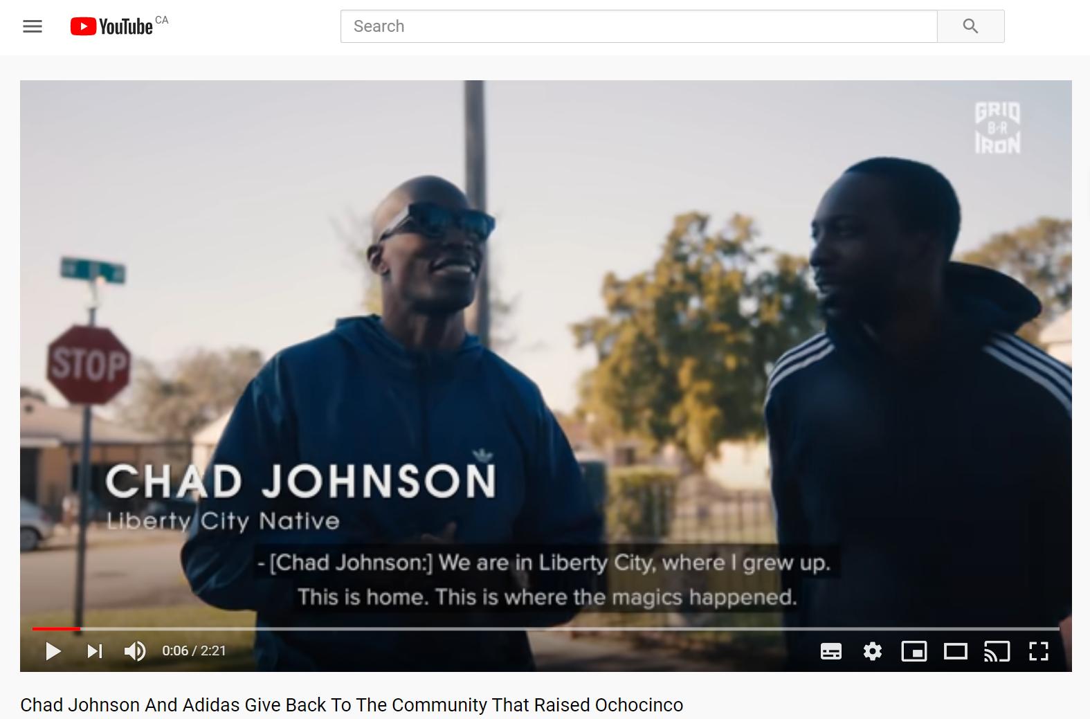 Adidas and Bleacher Report The Community That Raised Ochocinco