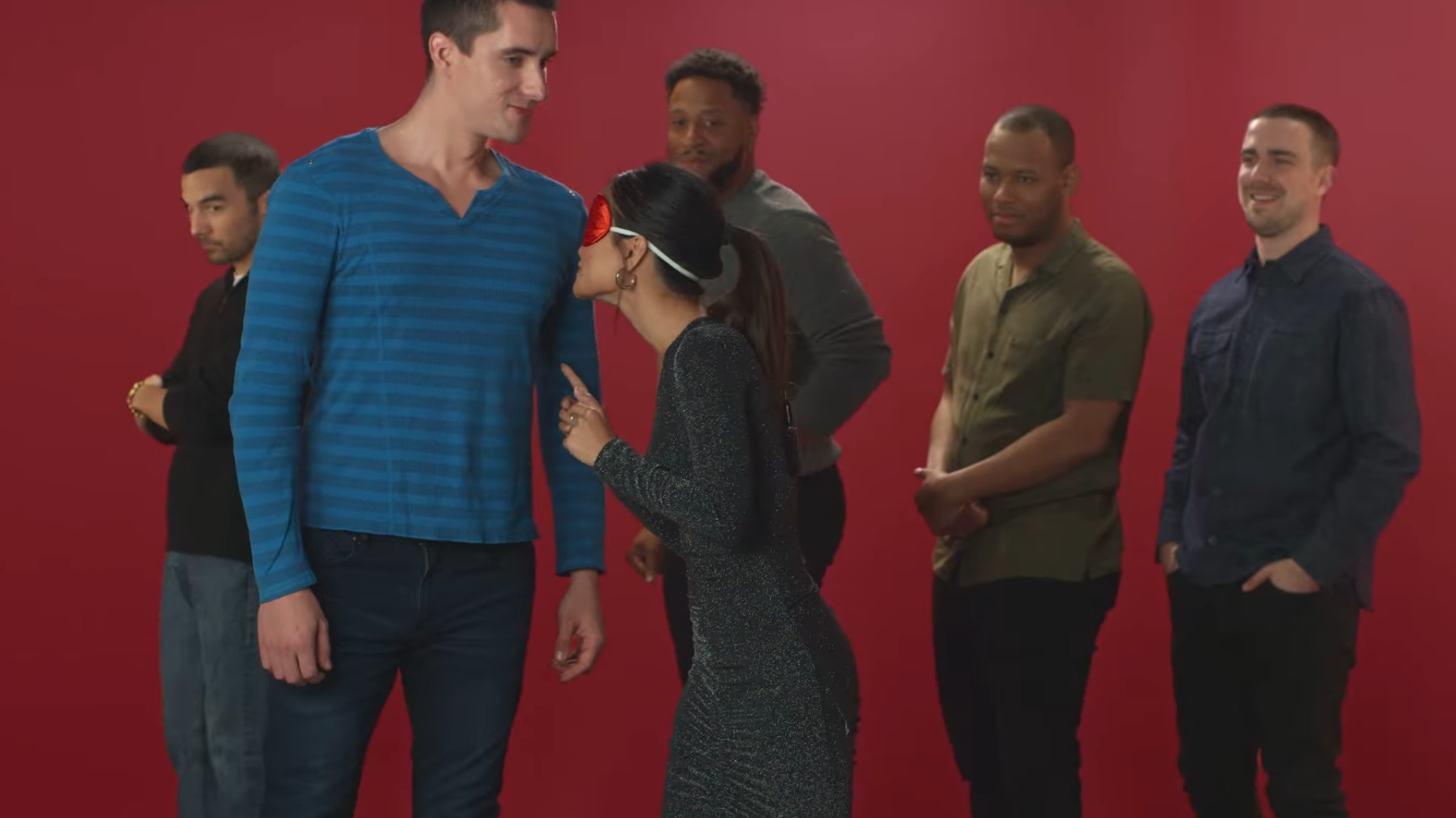 Buzzfeed and Old Spice The Blindfold Smell Test