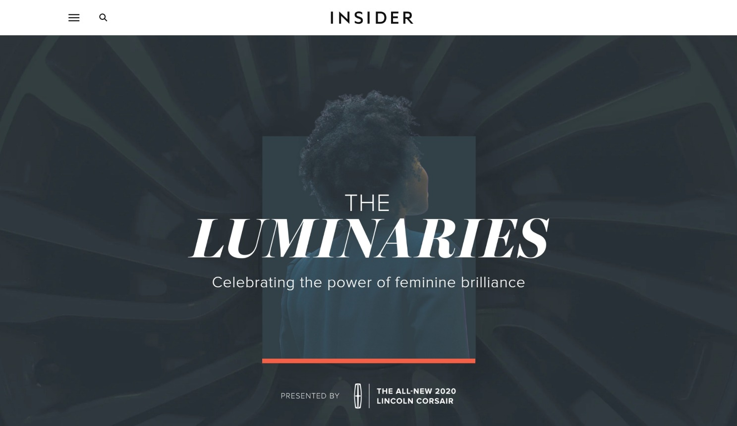 Insider and Lincoln The Luminaries