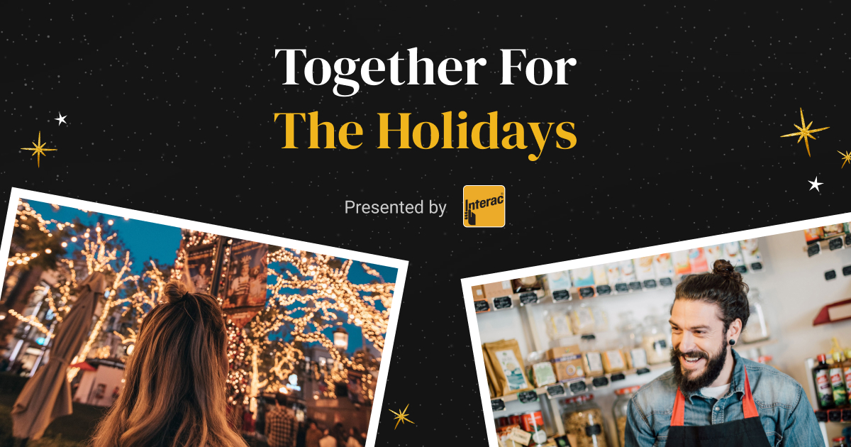 Narcity and Interac Together for the holidays