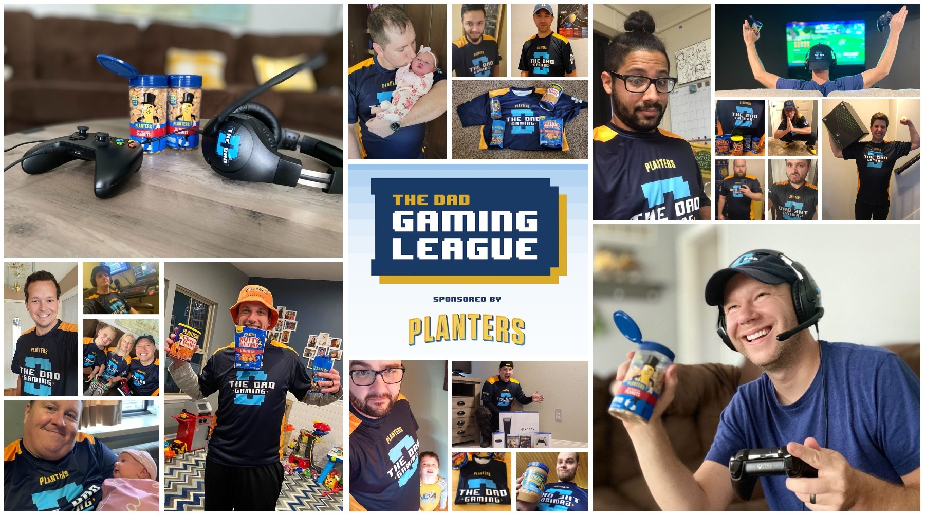 The Dad and Planters The Gaming League