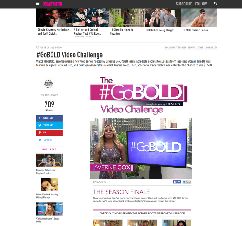 Cosmo_Revlon Video