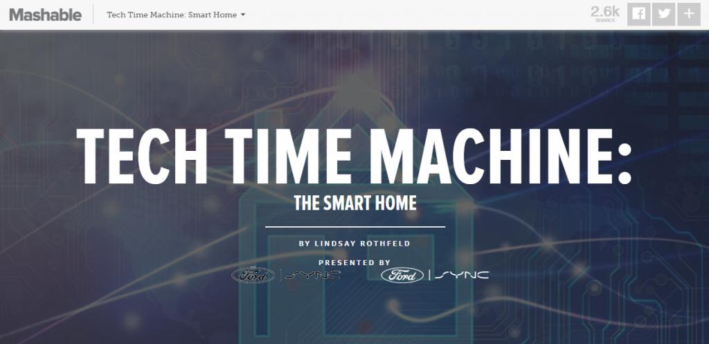 mashable tech time machine